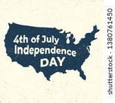 4th of july. independence day... | Shutterstock .eps vector #1380761450