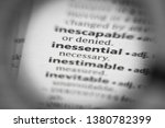 Small photo of Word or phrase inessential in a dictionary.