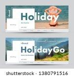 social network banner design... | Shutterstock .eps vector #1380791516