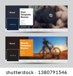 modern banner design for social ... | Shutterstock .eps vector #1380791546