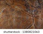 marble pattern of bright orange ...   Shutterstock . vector #1380821063