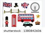 set of skyline or cityscape of...   Shutterstock .eps vector #1380842606