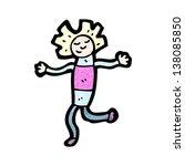 cartoon dancing doll | Shutterstock . vector #138085850
