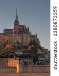 Sunset At Mont Saint Michel ...