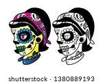 The Head Of Skull Girl