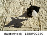 disassembled led lantern on a...   Shutterstock . vector #1380902360