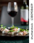 traditional crispy dumplings... | Shutterstock . vector #1380908609