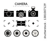logo of camera collection design | Shutterstock .eps vector #1381007129