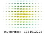 light green  yellow vector... | Shutterstock .eps vector #1381012226
