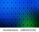 dark blue  green vector cover... | Shutterstock .eps vector #1381012256