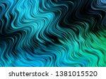 light blue  green vector... | Shutterstock .eps vector #1381015520