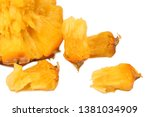 pineapple on a white background | Shutterstock . vector #1381034909