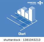chart icon. growth diagram ... | Shutterstock .eps vector #1381043213