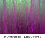 purple green neon background.... | Shutterstock . vector #1381044953