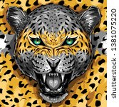 Wild Animal Leopard Fashion...