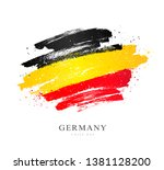 german flag. vector... | Shutterstock .eps vector #1381128200