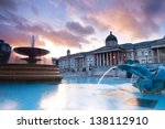 London  Trafalgar Square In Th...
