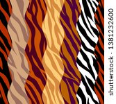 abstract exotic pattern in... | Shutterstock .eps vector #1381232600