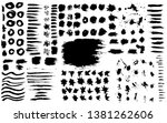 newest brush strokes  include... | Shutterstock .eps vector #1381262606