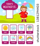 """set of cards """"today weather is..... 