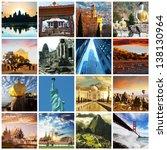 worlds famous views   Shutterstock . vector #138130964