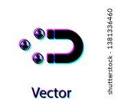 black customer attracting icon... | Shutterstock .eps vector #1381336460