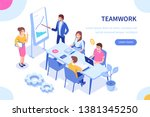 people team concept. can use...   Shutterstock . vector #1381345250
