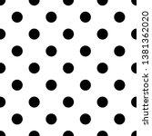 vector seamless white pattern... | Shutterstock .eps vector #1381362020