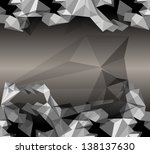 abstract background. origami... | Shutterstock .eps vector #138137630