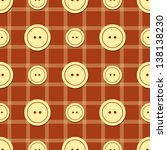 seamless pattern with buttons... | Shutterstock .eps vector #138138230