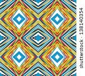 pattern made through a graphics ... | Shutterstock . vector #138140354