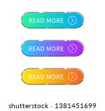 read more button on white... | Shutterstock .eps vector #1381451699