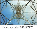 high voltage electrical... | Shutterstock . vector #138147770