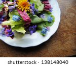 flower salad | Shutterstock . vector #138148040