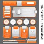web designing element | Shutterstock .eps vector #138150788
