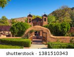 el santuario de chimayo...   Shutterstock . vector #1381510343