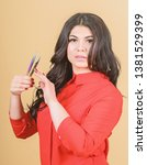 classic technique applying... | Shutterstock . vector #1381529399