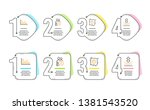 dating chat  timer and... | Shutterstock .eps vector #1381543520