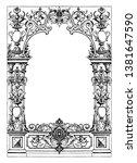 border typographical frame was... | Shutterstock .eps vector #1381647590