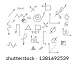 school and education. set of...   Shutterstock . vector #1381692539