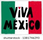 Hand Drawn Viva Mexico Long...