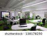 modern office interior | Shutterstock . vector #138178250