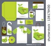 stationery design set in vector ... | Shutterstock .eps vector #138178430