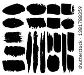 collection of vector brushes.... | Shutterstock .eps vector #1381788359