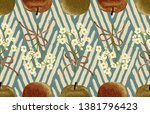 vintage beautiful and trendy... | Shutterstock . vector #1381796423