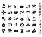 finance and investment icons... | Shutterstock .eps vector #1381840970