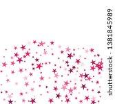 falling stars confetti... | Shutterstock .eps vector #1381845989