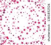 falling stars confetti... | Shutterstock .eps vector #1381852526