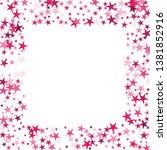falling stars confetti... | Shutterstock .eps vector #1381852916