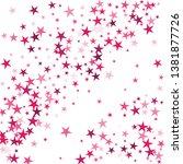 falling stars confetti... | Shutterstock .eps vector #1381877726